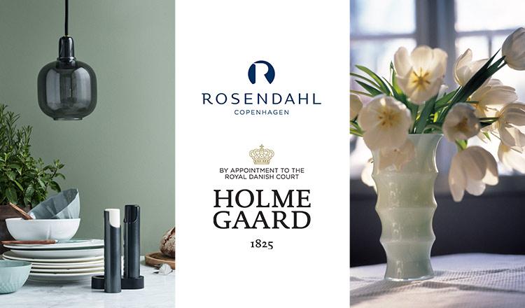 ROSENDAHL COPENHAGEN/HOLMEGAARD
