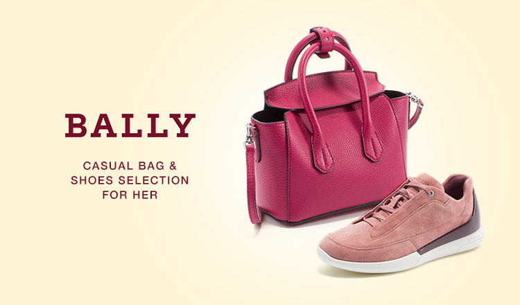 BALLY CASUAL BAG&SHOES SELECTION FOR HER