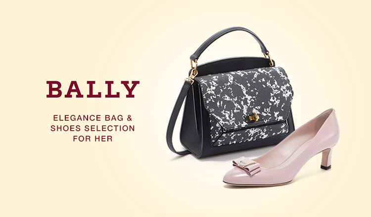 BALLY ELEGANCE BAG&SHOES SELECTION FOR HER