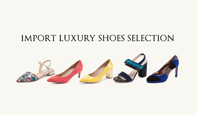 IMPORT LUXURY SHOES SELECTION