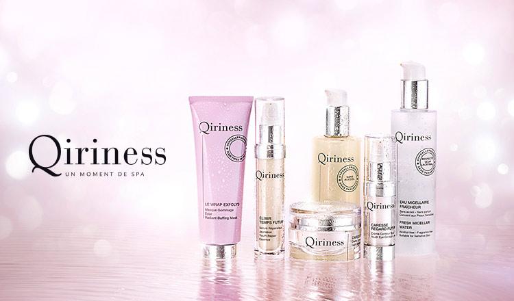 QIRINESS--パリ発のHome Spa 化粧品-