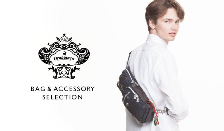 OROBIANCO BAG& ACCESSORY SELECTION