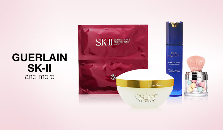 GUERLAIN / SK-II and more