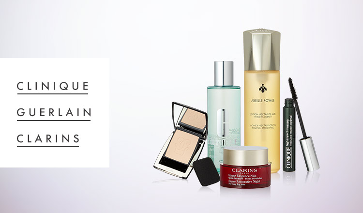 CLINIQUE/GUERLAIN/CLARINS