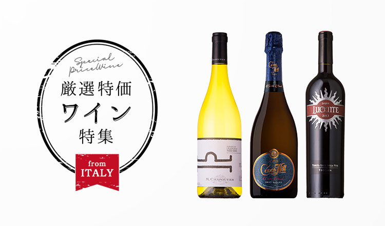 厳選特価ワイン特集 -special selection-