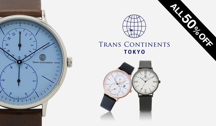TRANSCONTINENTS WATCH SELECTION