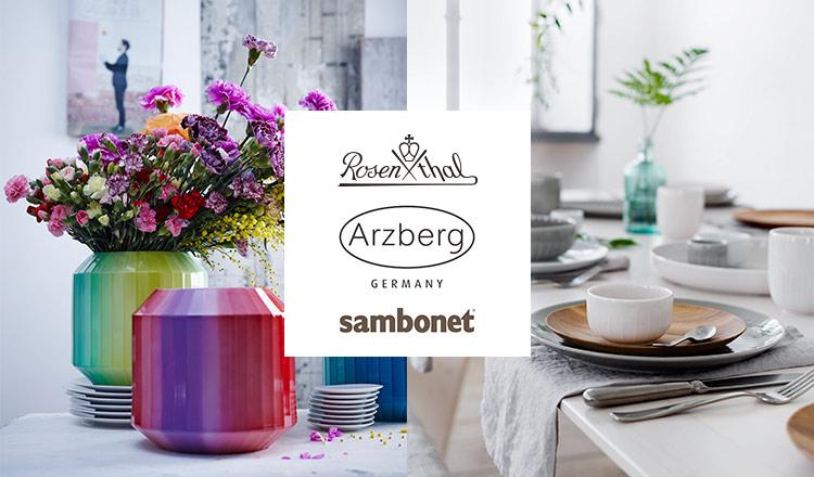 ROSENTHAL/Arzberg/sambonet and more