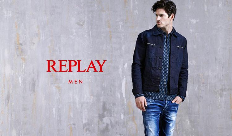 REPLAY FOR MEN