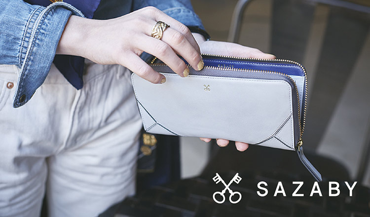 SAZABY -LEATHER GOODS-