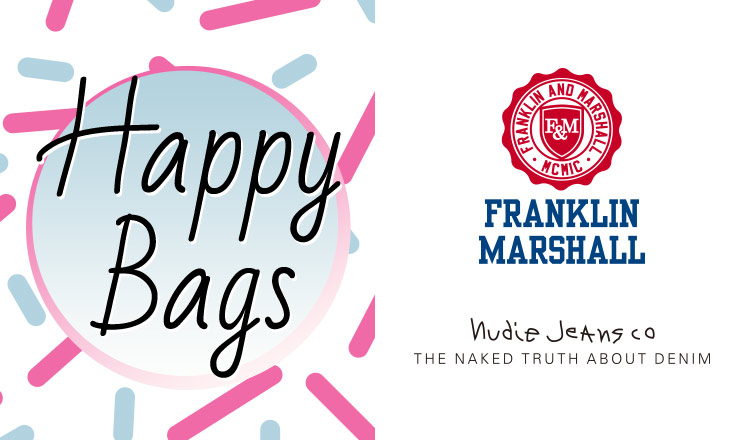 FRANKLIN MARSHALL/NUDIE JEANS HAPPY BAG