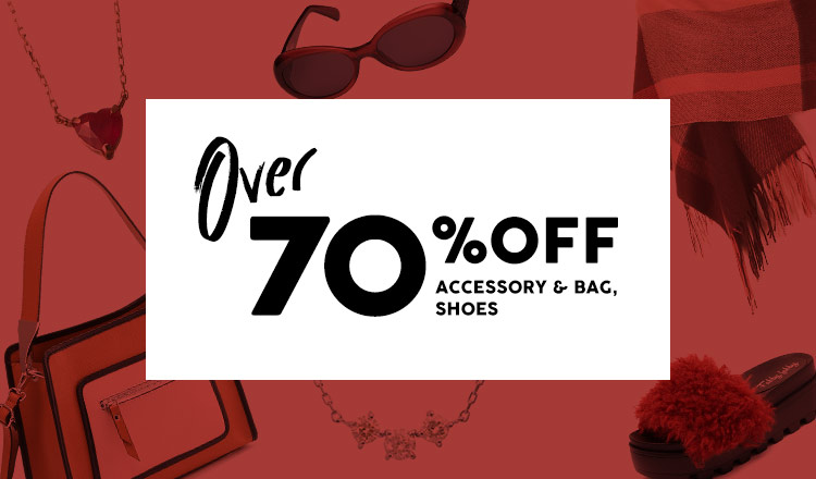 OVER70%OFF  -ACCESSEORY & BAG & SHOES-