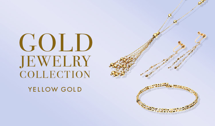 GOLD JEWELRY COLLECTION -YELLOW GOLD-