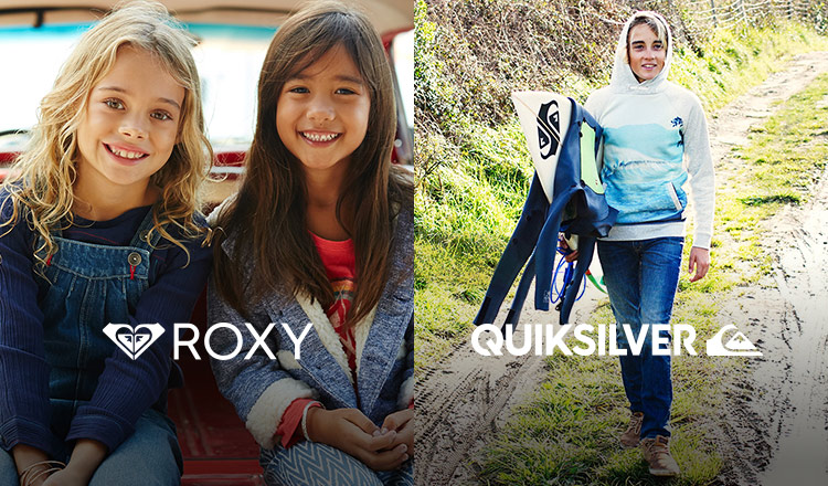 ROXY GIRLS/QUIKSILVER BOYS