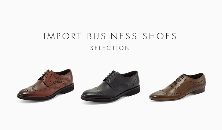IMPORT BUSINESS SHOES SELECTION