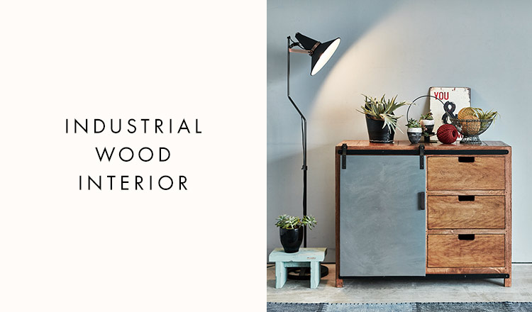 INDUSTRIAL WOOD INTERIOR