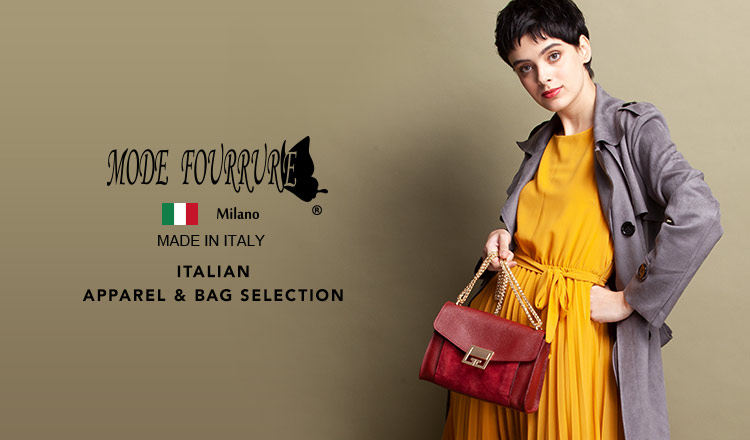 NEW MODE FOURRURE ITALIAN APPAREL&BAG SELECTION