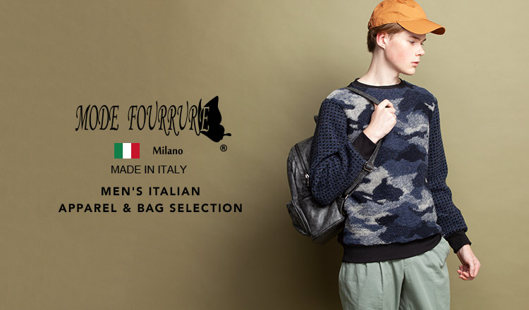 NEW MODE FOURRURE MEN'S ITALIAN APPAREL&BAG SELECTION