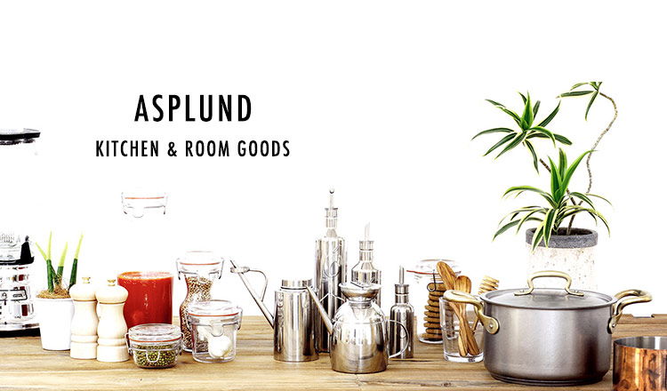 ASPLUND -KITCHEN & ROOM GOODS-