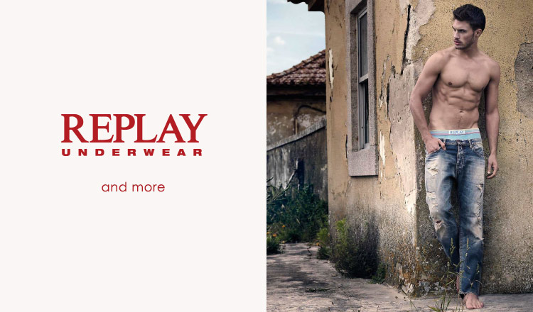 REPLAY UNDERWEAR and more