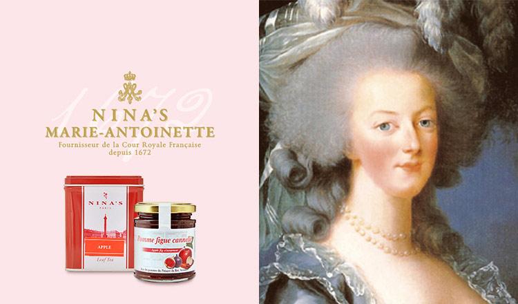 NINA'S PARIS-マリー・アントワネットが愛した紅茶-