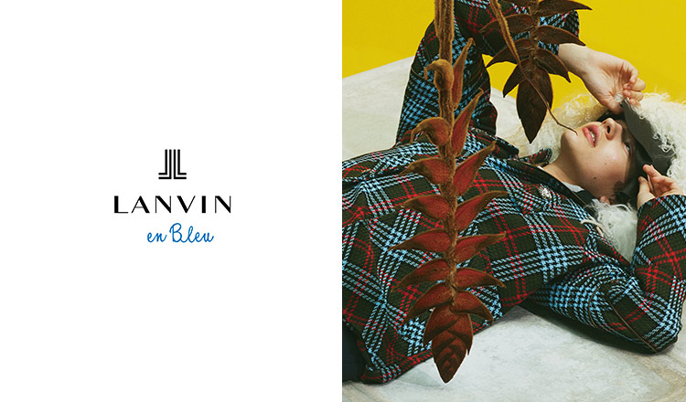 LANVIN EN BLEU -BAG & ACCESSORY-