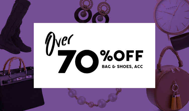 OVER70%OFF - BAG & SHOES & ACC -