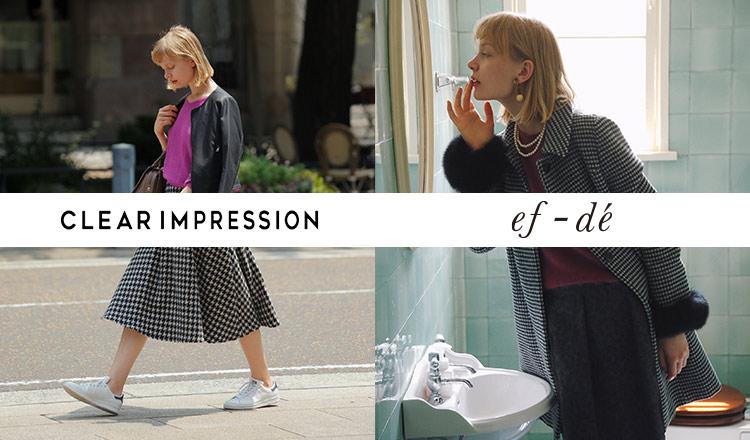 CLEAR IMPRESSION / EF-DE
