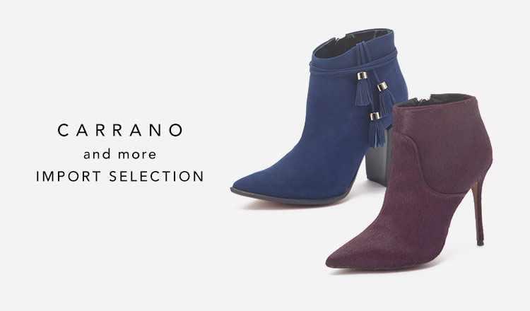 CARRANO and more IMPORT SELECTION