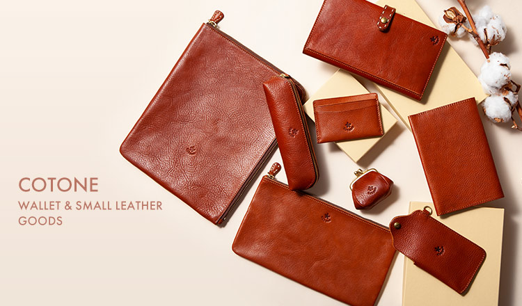 COTONE- WALLET & SMALL LEATHER GOODS
