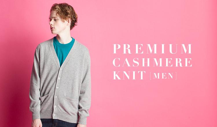 PREMIUM CASHMERE KNIT -MEN-