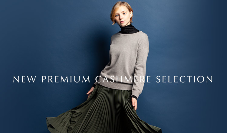 NEW PREMIUM CASHMERE SELECTION