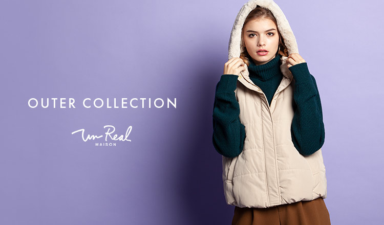 UN REAL MAISON -OUTER COLLECTION-