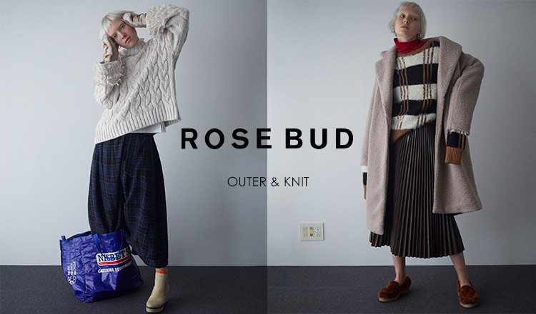 ROSE BUD -OUTER & KNIT-