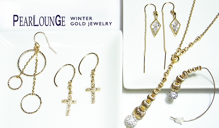 PEARLOUNGE -WINTER GOLD JEWELRY-