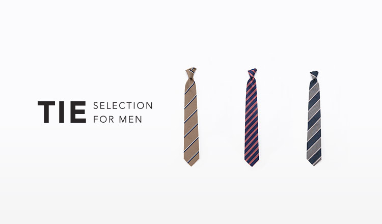 TIE SELECTION FOR MEN