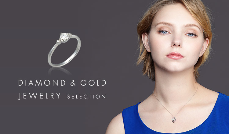 DIAMOND&GOLD JEWELRY  SELECTION
