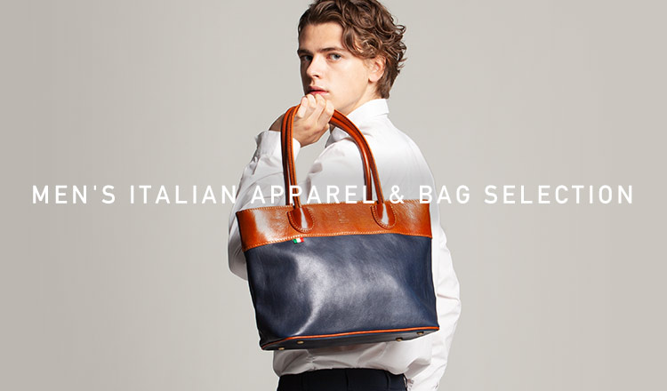 MEN'S ITALIAN APPAREL&BAG SELECTION