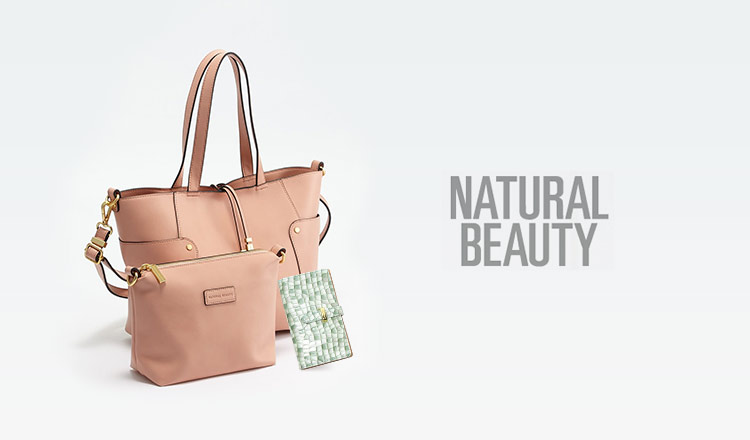 NATURAL BEAUTY -BAG-