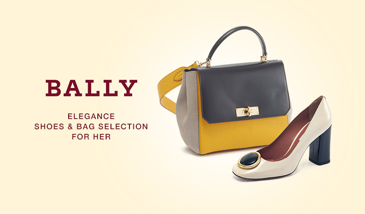BALLY  SHOES & BAG SELECTION FOR HER