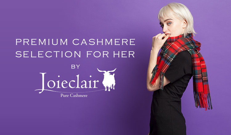 PREMIUM CASHMERE SELECTION FOR HER by Joieclair