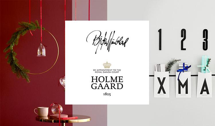 HOLMEGAARD/ROSENDAHL COPENHAGEN -X'MAS SELECTION