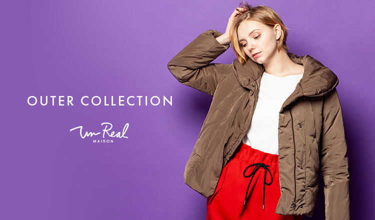 UN REAL MAISON_OUTER COLLECTION