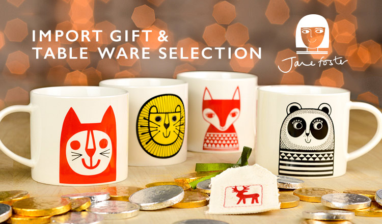 IMPORT GIFT & TABLE WARE SELECTION