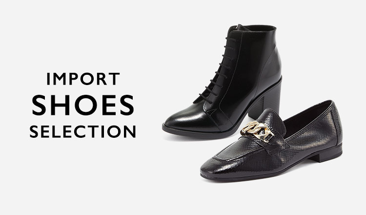 IMPORT SHOES SELECTION