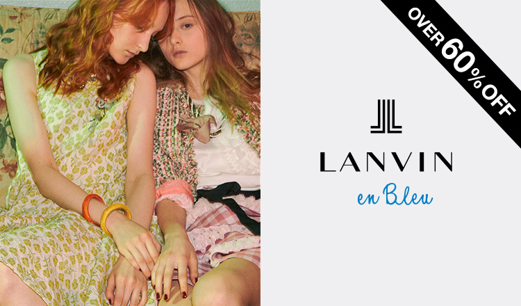LANVIN EN BLEU -APPAREL-OVER60%OFF~
