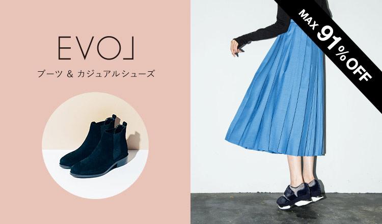 EVOL  -ブーツ& カジュアルシューズ -