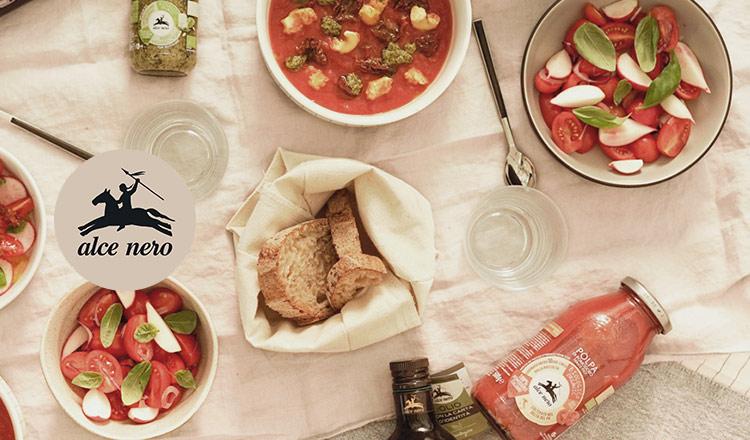100%オーガニックのイタリア食材 -ALCE NERO-