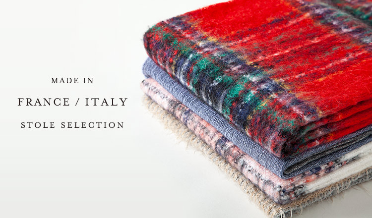 MADE IN FRANCE/ITALY STOLE SELECTION