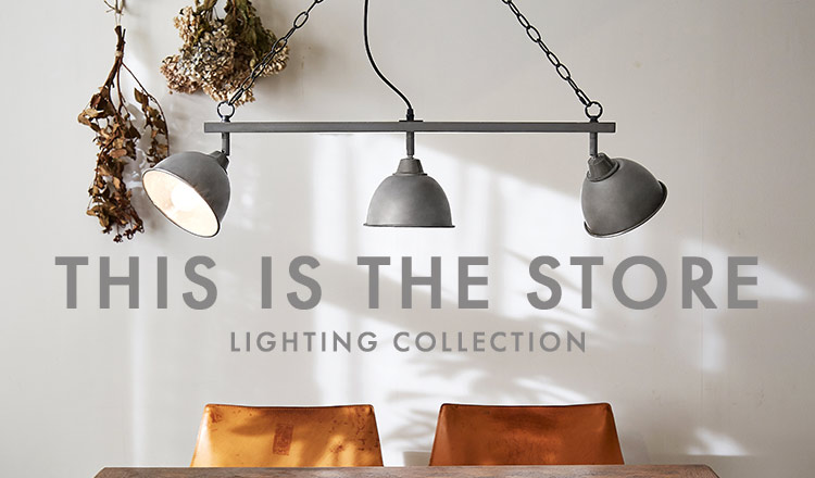THIS IS THE STORE -LIGHTING COLLECTION-