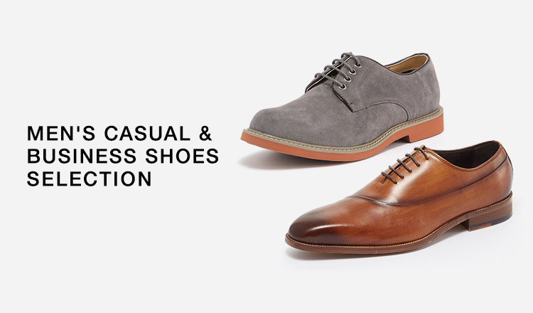 MEN'S CASUAL & BUSINESS SHOES SELECTION